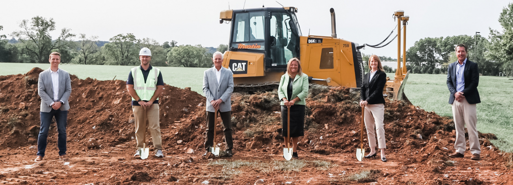Center 85 Groundbreaking