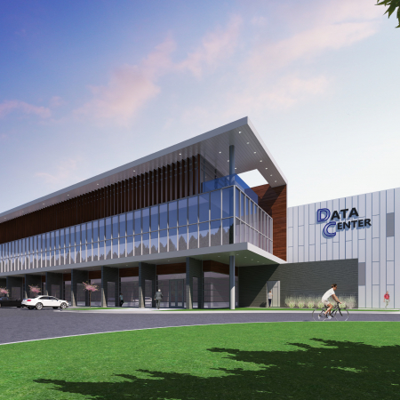 Parkway66 Data Center Rendering