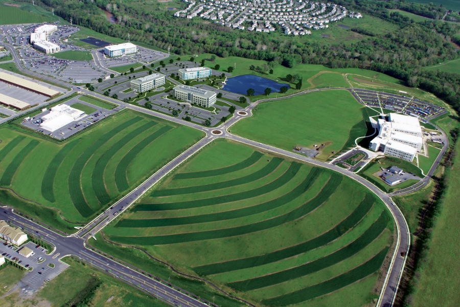 Riverside Research Park Aerial