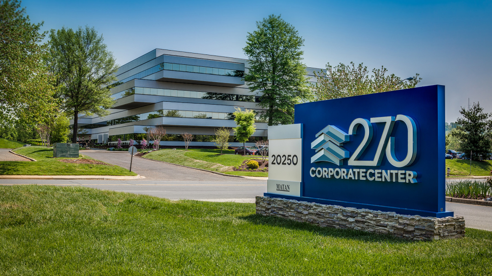 270 Corporate Center Monument Sign