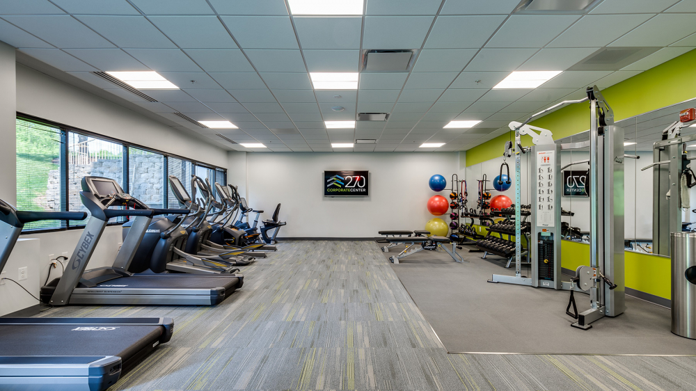 270 Corporate Center Fitness Room