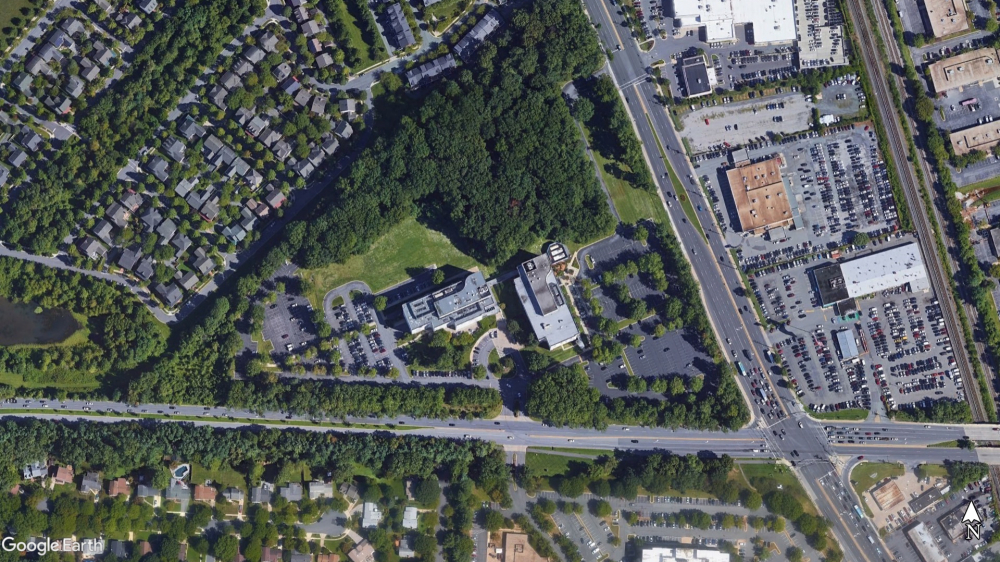 Rockville Center Townes Aerial