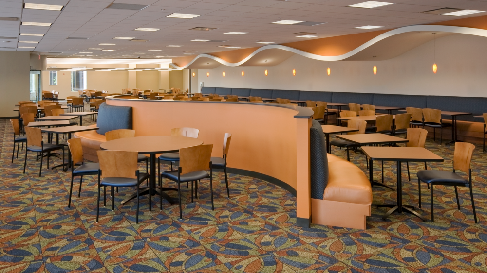 Wells Fargo Cafe Seating